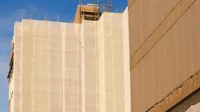 Photograph of Smith Campus Center exterior renovation