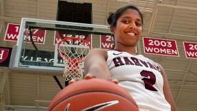 Photo of Harvard women's basketball player Shilpa Tummala