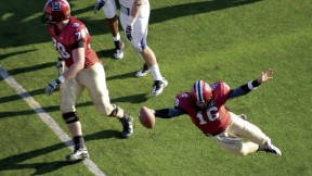 Quarterback Collier Winters dove for Harvard's third touchdown in a 37-20 defeat of Penn.