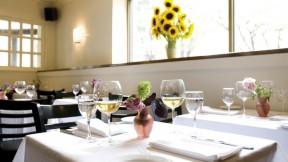Erbaluce's minimalist décor lets the food shine.