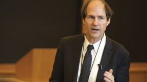 Professor Sunstein in his Harvard milieu, teaching administrative law