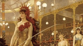James Tissot's painting, <i>Ladies of the Chariots</i>