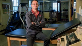 Photograph of athletic and sports medicine trainer Brant Berkstresser