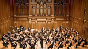 The Longwood Symphony Orchestra performs at Jordan Hall.