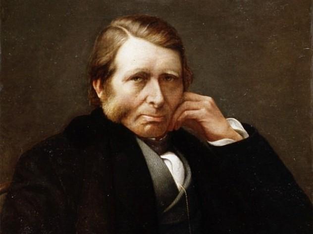 Portrait of Ruskin by Charles Herbert Moore
