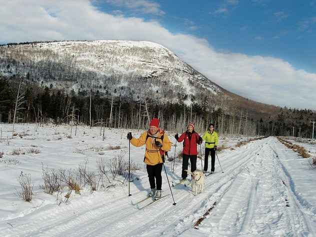 The ECG is not just for walkers and cyclists; even in winter, the Downeast Sunrise Trail in far northern Maine can be enjoyed by skiers and snowmobilers alike.