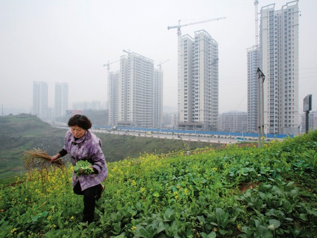 Chongqing: the urban-rural interface in a burgeoning city in central China