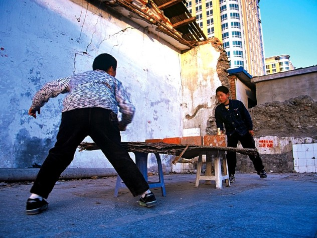 Beijing: a popular pastime in a radically new setting