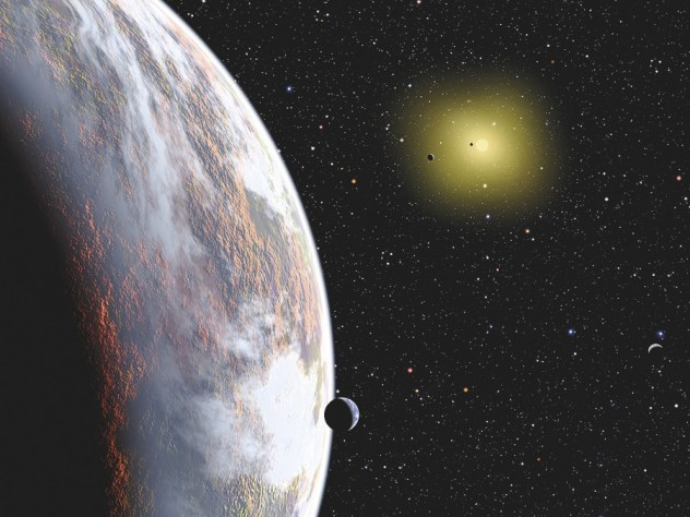 "The Center for Astrophysics presents ""Searching for Planets with Kepler,"" the topic of the March 18 Observatory Night."