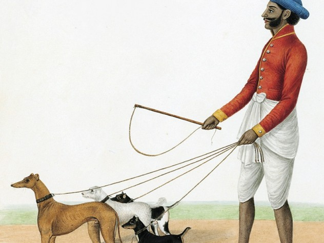 <i>The Dog Wallah,</i> circa 1825, from <i>Company to Crown: Perceptions and Reactions in  British India,</i> at the Sackler