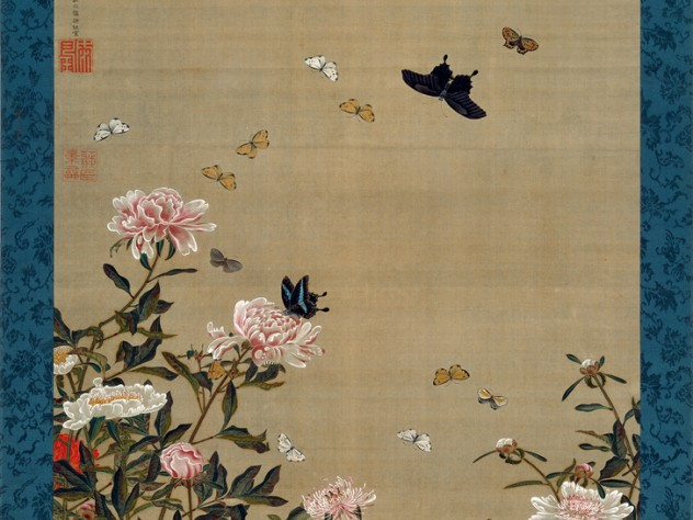 <i>Peonies and Butterflies</i> (c. 1757)