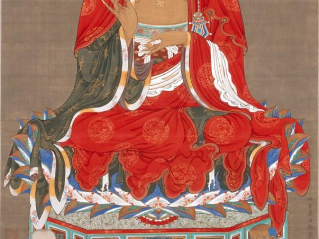 <i>The Buddha Śākyamuni</i>, from <i>Śākyamuni Triptych</i> c. first half of the 1760s