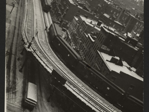 <i> Untitled</i> (Second Avenue El from Window of 235 East 22nd Street, New York), 1939