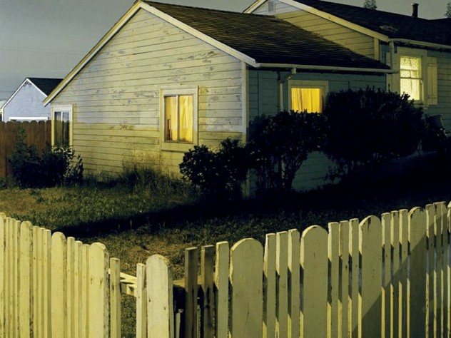 <i>#2690, </i> from the series <i>House Hunting,</i> 2000, by photographer Todd Hido, at the Harvard Art Museums