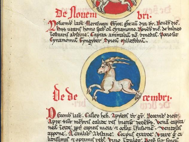 November (Sagittarius) and December (Capricorn)