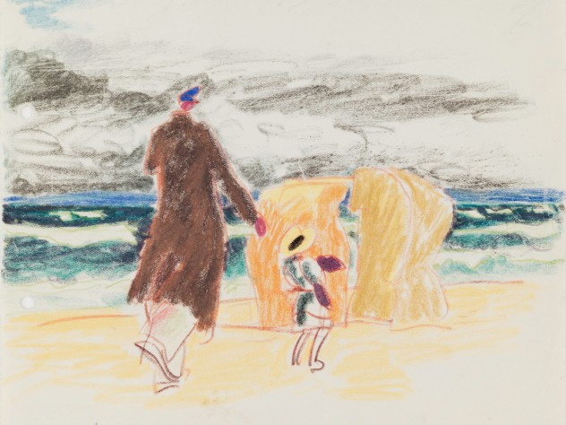 <i>Untitled</i> (Beach Scene), July 17, 1911