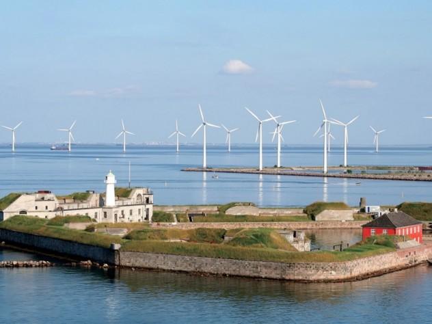 Denmark's Copenhagen Wind Farm