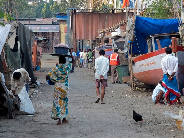 A Machhimar Nagar street scene