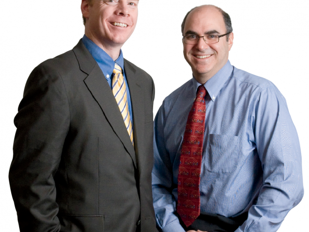William Meehan (left) and Mark Proctor