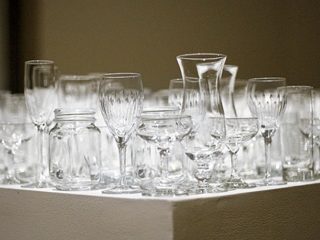 …and the relevant glassware