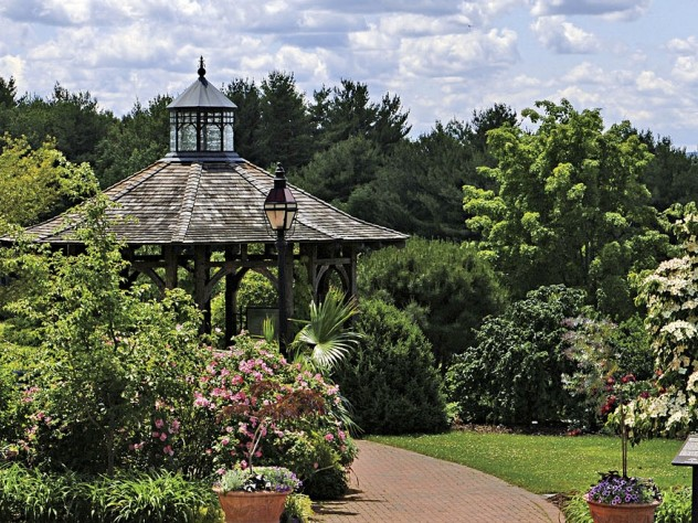 The Entry Garden at Tower Hill Botanic Garden