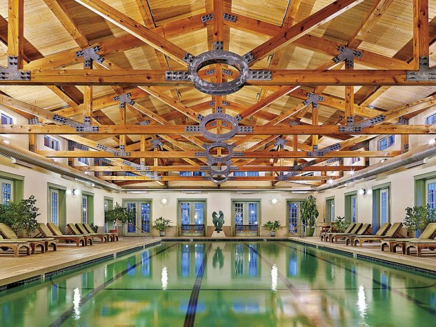 Take a dip in the pool at the Equinox Resort & Spa pool.