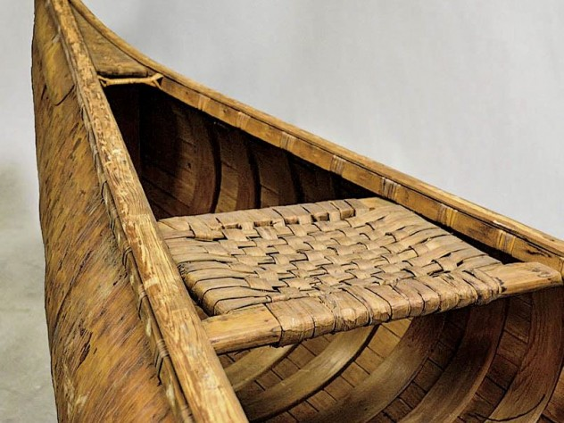 The fine art of crafting and using Native Americans' birch bark canoes, at the Peabody Museum