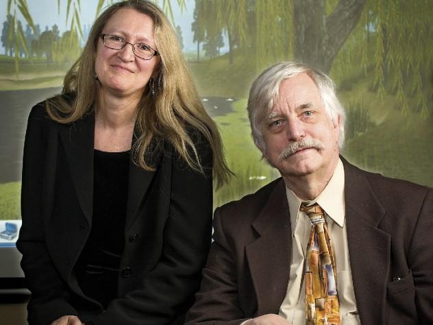 Graduate School of Education professors Tina Grotzer and Christopher Dede