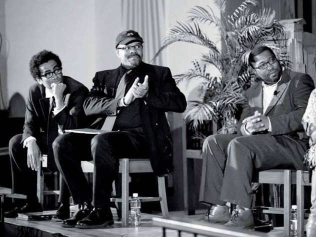 Ellis, John Keene, Jackson, and Tracy K. Smith in Chicago during the 2012 reunion tour