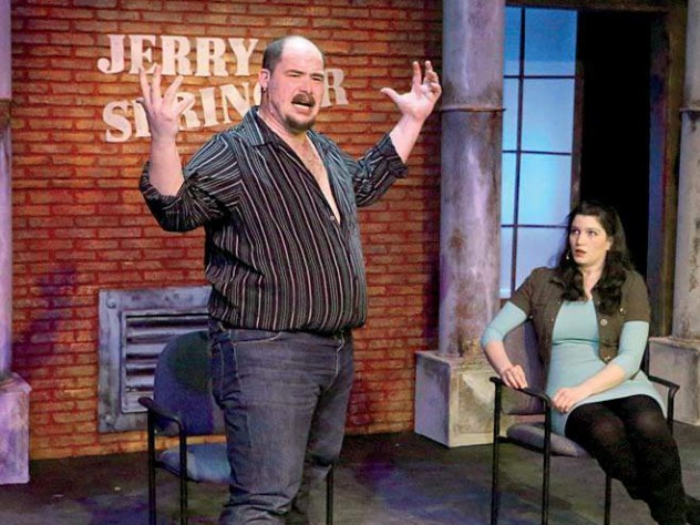 """Production still from """"Jerry Springer"""""""