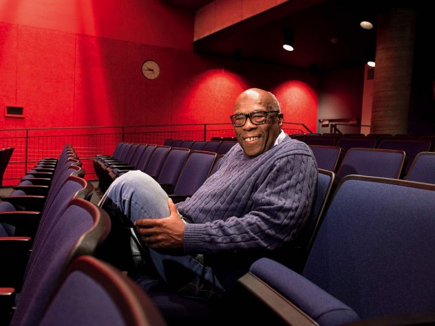 Documentarian Kent Garrett '63 returned to Harvard last fall for a screening of his work.