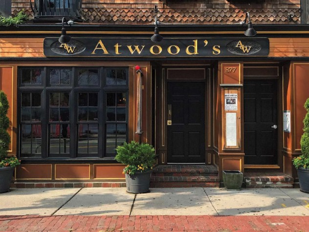 Exterior of Atwood's Tavern