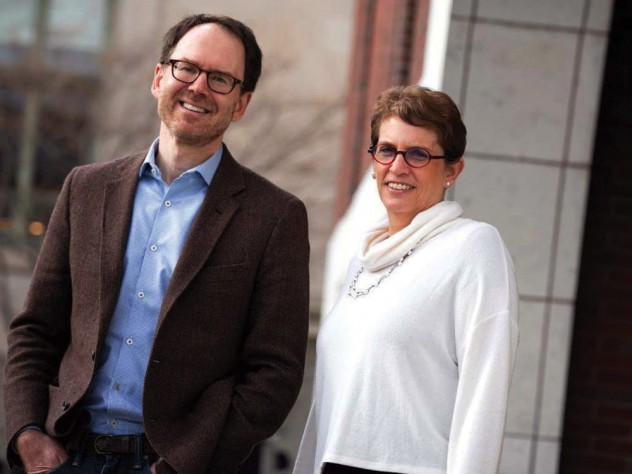 Photo of labor law experts Benjamin Sachs and Sharon Block