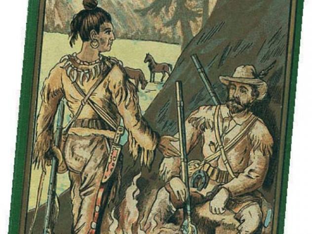 Cover of an original 1893 edition of the novel Winnetou