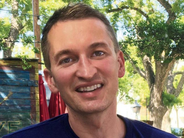 Photograph of author Justin Deabler