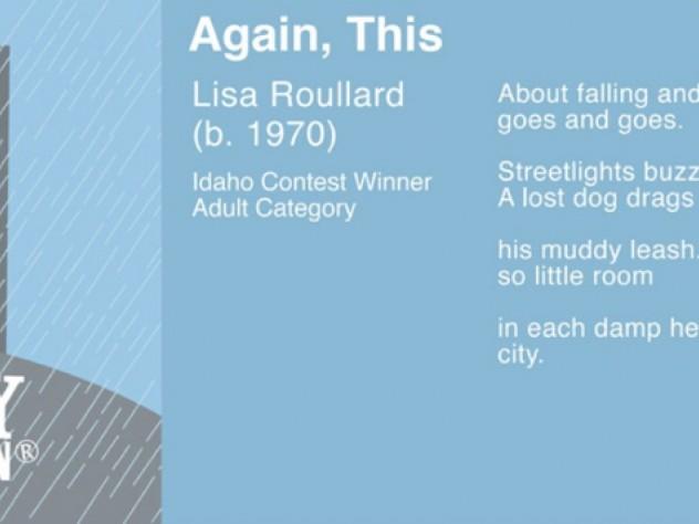 <i>Again, This</i> by Lisa Roullard