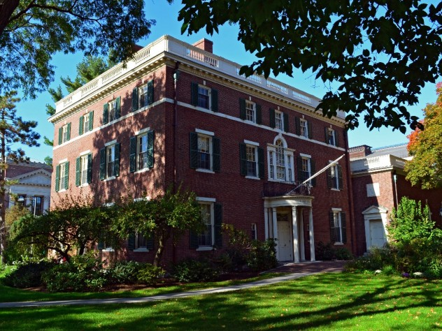Loeb House, home of the Governing Boards