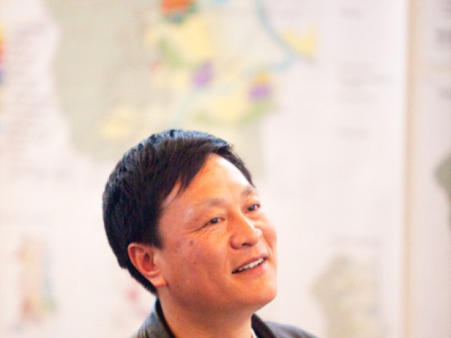 Yu Kongjian commutes from Beijing to teach a Graduate School of Design (GSD) studio course.