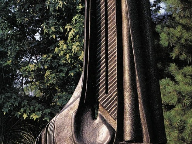 <i>The bronze Canon</i> (1997), more than seven feet tall,  is at Grounds for Sculpture in New Jersey.