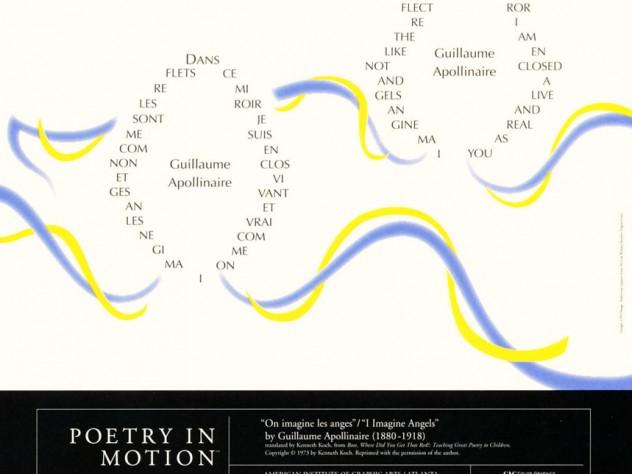 <i>I Imagine Angles</i> by Guillaume Apollinaire