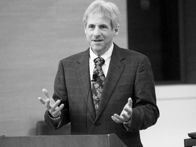 JohnTeton speaks at NewYork University.