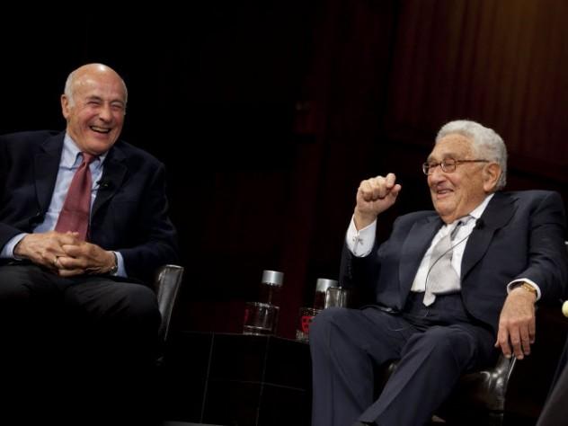 Joseph Nye and Henry Kissinger