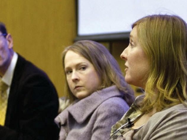 From left: Maya Jasanoff, Martin puchner, ann pearson, hopi hoekstra, and david Charbonneau