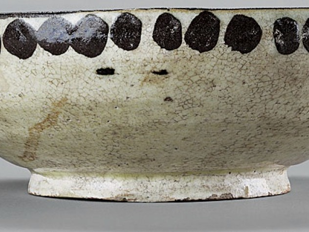 Side view of the bowl