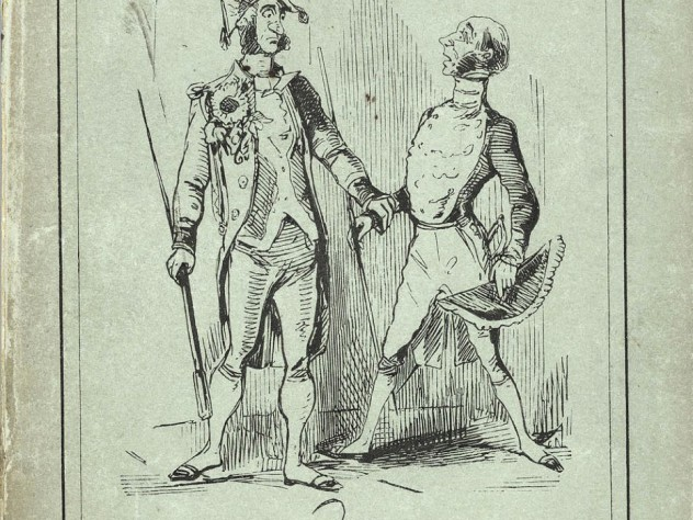 "An 1848 collection of his <i>Punch</i> series on ""The Snobs of England"""