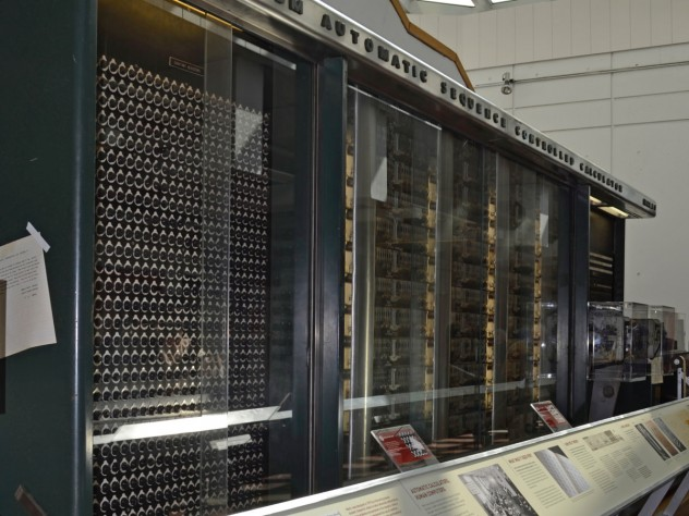 The 70-year-old Mark I computing machine was powered on briefly yesterday.