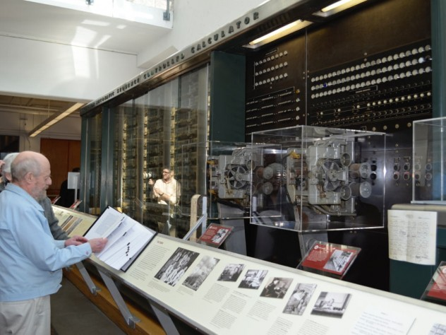 The short reboot celebrated the opening of a newly redesigned exhibit that describes the machine's history.
