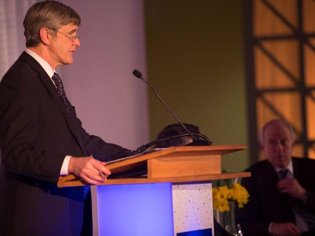 Harvard Divinity School dean David N. Hempton formally launches the campaign last week.