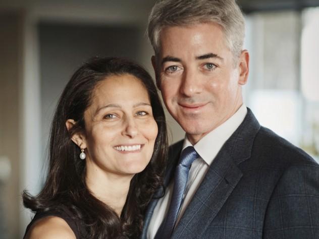 Karen and Bill Ackman