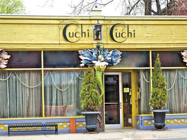 The entrance to Cuchi Cuchi